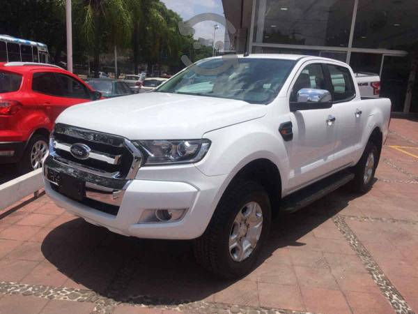 Ford Ranger 4p XLT Doble Cab L4/2.5 Man 4x4