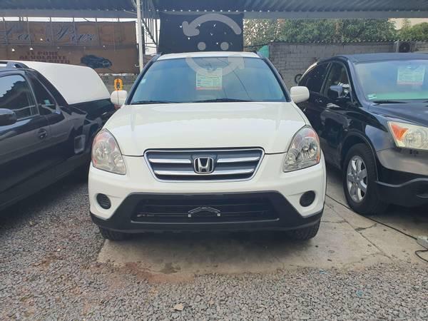 Honda CR-V EX  blanca excelente en Guadalajara, Jalisco